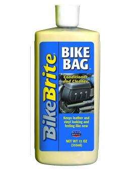 Bike Brite MC00048 Bike Bag Leather and Vinyl Cleaner and Conditioner - 12 fl. oz.