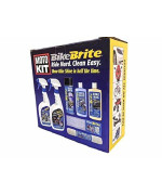 Bike Brite MC10000 Motorcycle Detailing Kit, 67 fl. oz.