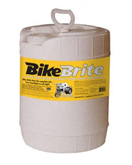 "Bike Brite MC445G Blue 12.5"" x 15"" x 10"" Motorcycle Spray Wash, 5 Gallon"