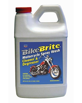 Bike Brite Motorcycle Spray Wash 64Oz Refill