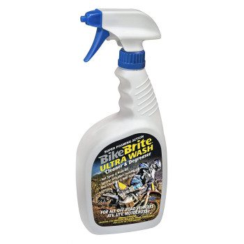 Bike Brite MC44U Ultra Wash Cleaner and Degreaser for Off Road Vehicles, 32 fl. oz.