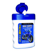 "Bike Brite MC49000 White/Blue 3"" x 4.5"" x 1.5"" Bike Wipes"