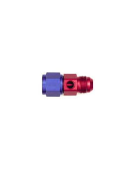 "XRP 700202-10 Male to -10 Female Fuel Pressure Adapter with 1/8"" NPT Port"