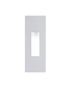 Alico Industries Wle106Sq32K-5-16 Scope Led Square Ada New Construction Wall Niche Faceplates, Stainless Steel Finish With Frosted Lens