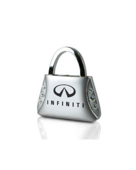 Infiniti Clear Crystals Purse