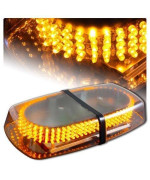 Zhol New Bright Amber 240-Led Strobe Light Warning Emergency Flashing Car Truck Construction Car Vehicle Safety #71A