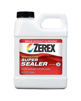 Zerex Zxc03 Super Radiator Sealer, 14.5 Fl. Oz