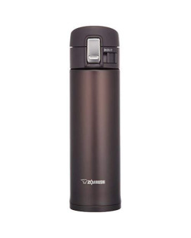 Zojirushi Sm-Kb48Tm Stainless Steel Travel Mug, 16-Ounce/0.48-Liter, Dark Cocoa