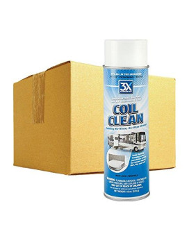 3X:Chemistry 13795 Foaming Coil Cleaner - 18 Oz., (Case Of 12)
