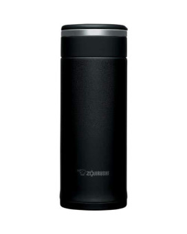 Zojirushi Sm-Jhe36Ba Stainless Steel Travel Mug, 12-Ounce/0.36-Liter, Black