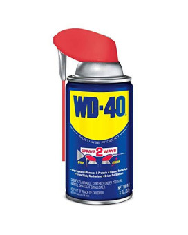 WD-40 Multi-Use Product - Multi-Purpose Lubricant with Smart Straw Spray. 8 oz. (1 Pack)