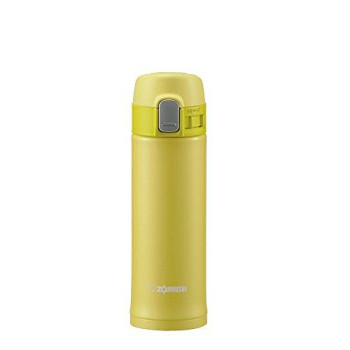 Zojirushi Stainless Vacuum Mug, 10 Oz/0.30 L, Lime Yellow