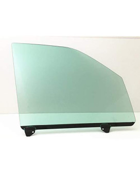 Nagd Compatible With 2001-2003 Ford F150 4 Door Crew Cab Passenger Side Right Front Door Window Glass