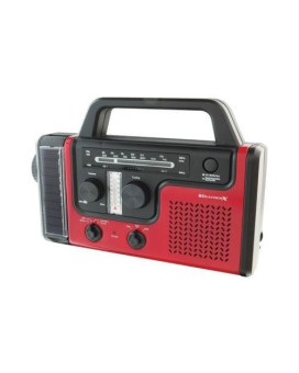 Weatherx Wr383R Weatherband Am/Fm Radio With Flashlight