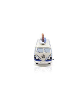 Brisa Vw Collection Vw T1 Bus Money Bank With Surf Board (1:18) - Surf