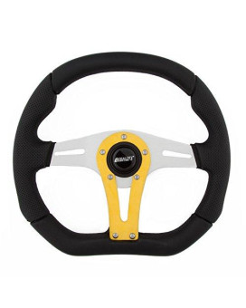 Grant 497 D-Series Racing Wheel With Yellow Vertical Spoke