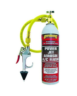 Tsi Supercool 27637 Power Jet Aerosol A/C Flush, 15 Fl. Oz.