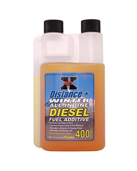 Rev-X Distance + Winter Diesel Fuel Additive (-45°) - 16 Fl. Oz. Treats 400 Gallons
