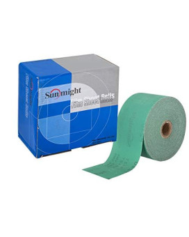 "Sunmight 22106 1 Pack 2-3/4"" X 45 Yd Psa Sheet Roll (Film Grit 80)"