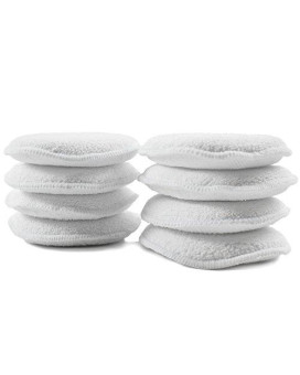 Zwipes Auto 894-4 Microfiber Car Wax Applicator Pads, 5-Inch, 8-Pack