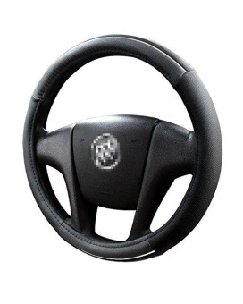 Aotomio Universal Black Steering Wheel Cover Fits Most Cars Diameter Of 15'' Breathable