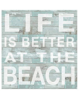 Wall Pops Dwpq2166 Better At The Beach Wall Quote