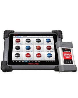 Autel Maxisys Ms908Cv Heavy Duty Diagnostic Scan Tool With J-2534 Ecu Programming,Bluetooth/Wifi Enabled &Amp; Wireless Connection