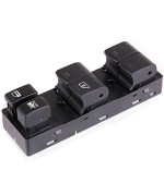 cciyu Master Power Window Switch Front Left Driver Side Replacement fit for 2007-2012 Nissan Altima 25401-ZN40C 25401-JA00A 25401-ZN40B 25401-ZN40A 25401-JN03A