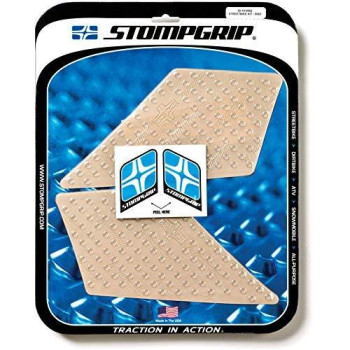 13-16 Bmw R1200Gs: Stomp Grip Traction Pads (Clear)