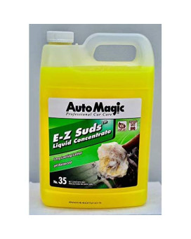 Auto Magic E-Z Suds Liquid Concentrate Premium Car Wash Soap 1 Gallon