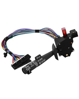 Multi-Function Combination Switch For | Chevy Tahoe, Blazer, Suburban, K1500, Sierra | Replaces Part # 2330814, 26100985 26036312 | Turn Signal, Wiper, Washers, Hazard Switch, Cruise Control