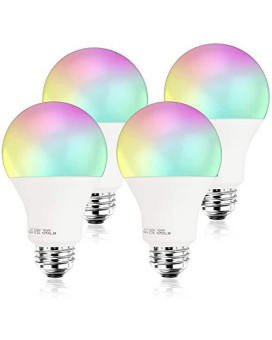[2019 Upgrade] 100W Equivalent Smart Led Light Bulb A21 By 3Stone, Wifi App Controlled Ul Listed, Dimmable Warm White And Rgb Colors, Works Perfect With carkart Alexa Google Assistant