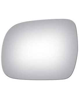 Burco 4109 Flat Driver Side Power Replacement Mirror Glass For Lexus Rx330, Rx350, Rx400H (2004, 2005, 2006, 2007, 2008, 2009)