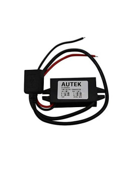 Autek Dc Converter Buck Module 12V Convert To 5V Usb Output Power Adapter(Dccon-5U-0)