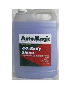 Auto Magic Body Shine - Lubricant For Clay & Cleaner - 1 Gal