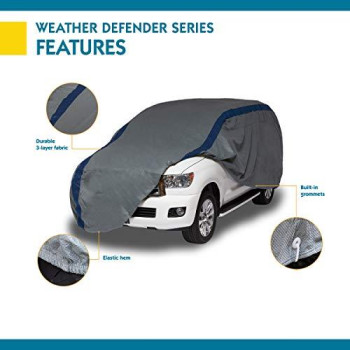 Duck Covers Weather Defender SUV Cover, Fits SUVs up to 15 ft. 5 in. L