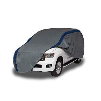 Duck Covers Weather Defender SUV/Truck Cover, Fits SUVs or Trucks with Shell or Bed Cap up to 17 ft. 5 in. L
