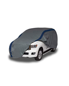 Duck Covers Weather Defender SUV/Truck Cover, Fits SUVs or Full Size Trucks with Shell or Bed Cap up to 19 ft. 1 in. L