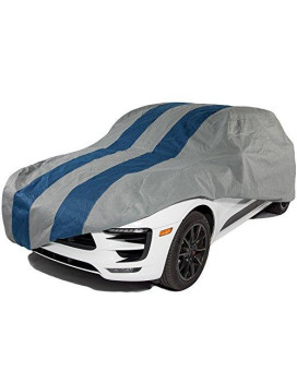 Duck Covers Rally X Defender SUV/Truck Cover, Fits SUVs or Full Size Trucks with Shell or Bed Cap up to 19 ft. 1 in. L