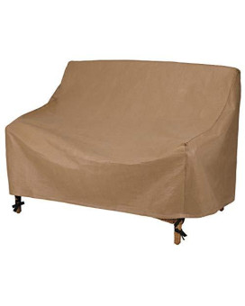 Duck Covers Essential 62 in. W Patio Loveseat Cover
