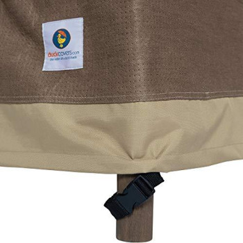 Duck Covers Elegant 54 in. W Patio Loveseat Cover
