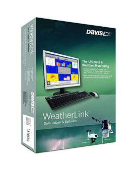 WEATHERLINK FOR VANTAGE PRO2, with Data Logger for Windows, Serial Port