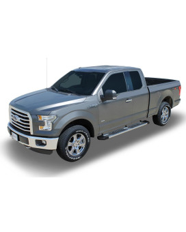 15-18 Ford F-150 Super Cab; 17-18 F-250/350 Super Duty Super Cab 6 Inch Aluminum Oem Running Boards