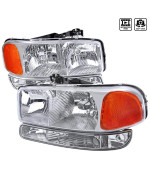 CHROME EURO HEADLIGHTS WITH BUMPER LIGHTS