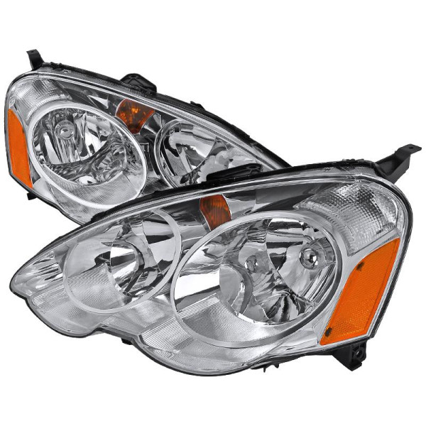 Buy 02-04 ACURA RSX HEADLIGHTS CHROME Online At Low Prices