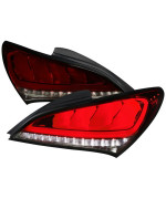 2DR LED TAIL LIGHTS RED SMOKE WITH SEQUENTIAL
