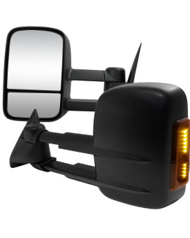 TOWING MIRRORS MANUAL WITH LED SIGNAL - RMX-C1088LED-M-FS