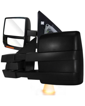 TOWING MIRRORS POWER ADJUSTMENT OE TYPE W/ HEATED MIRRORS