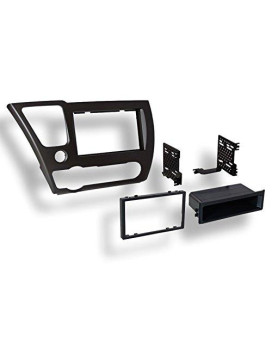 American International Install Kit for 2013 Honda Civic Black