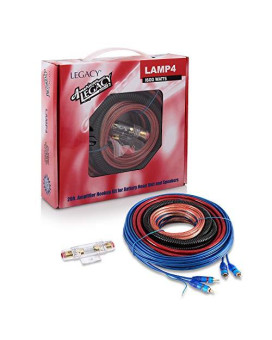 AMPLIFIER WIRING KIT 4GAUGE LEGACY